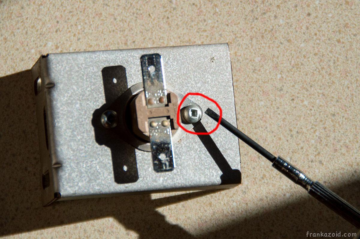 Limit switch RV servicing 2015 photo