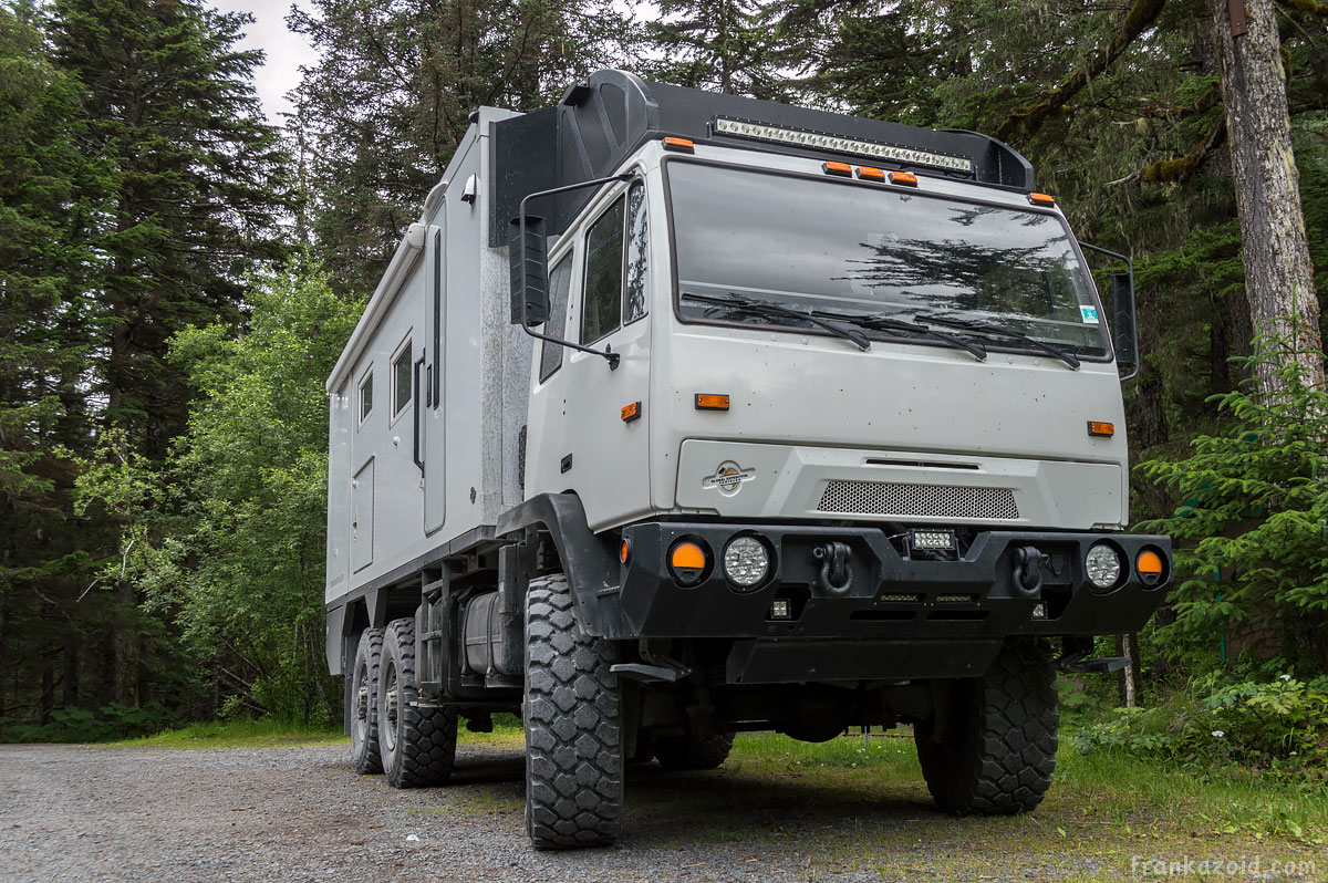 M1083 military truck RV motorhome conversion