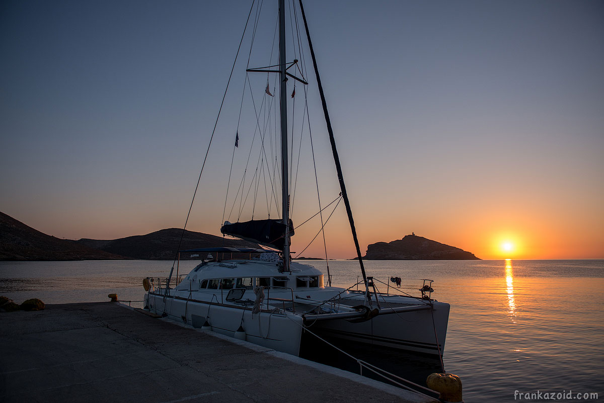 Greece boat (catamaran, yacht) trip 2014 photo