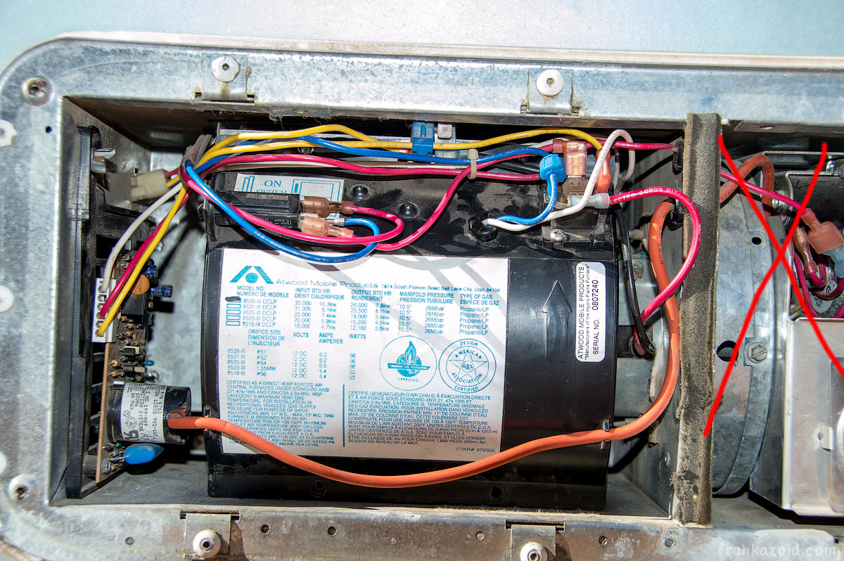 Limit switch RV servicing 2015 photo