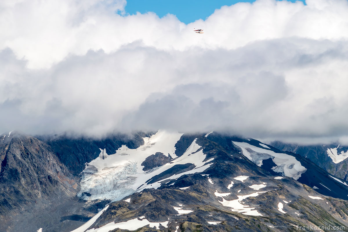 Alyeska hike on the mountains