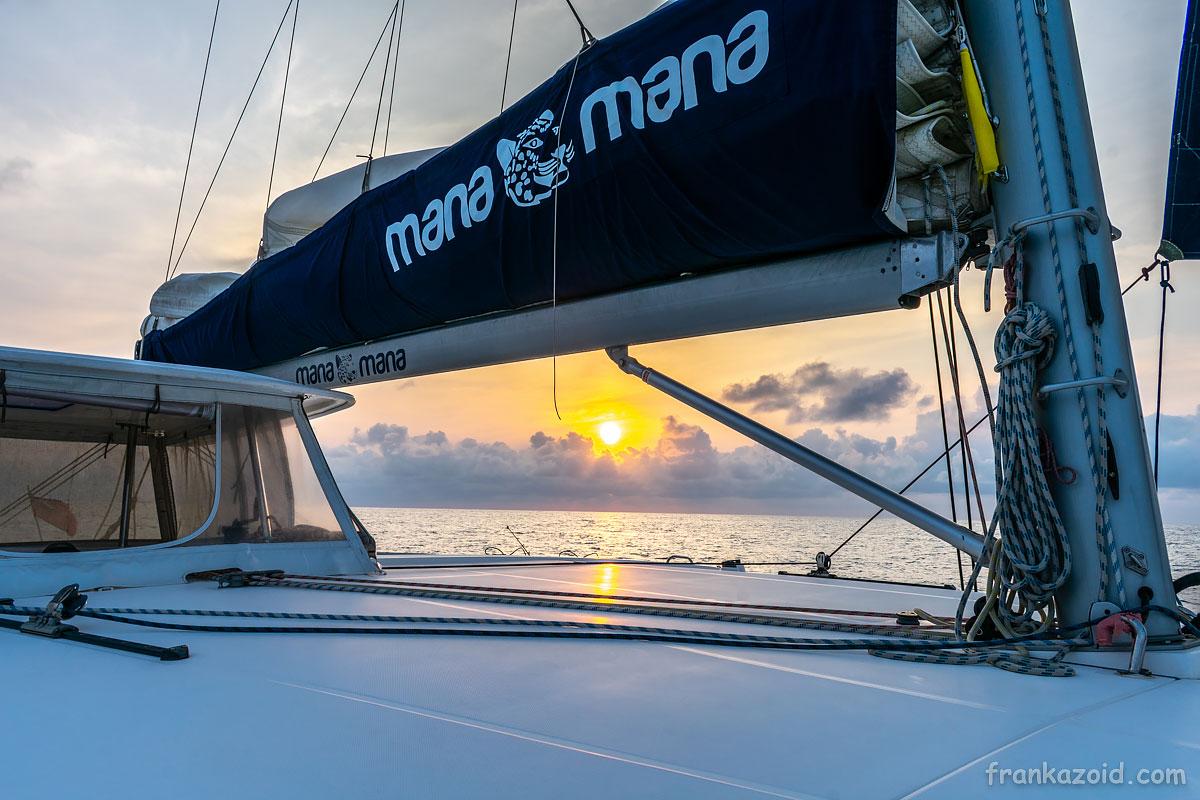 Трансатлантический переход на катамаране Мана-Мана