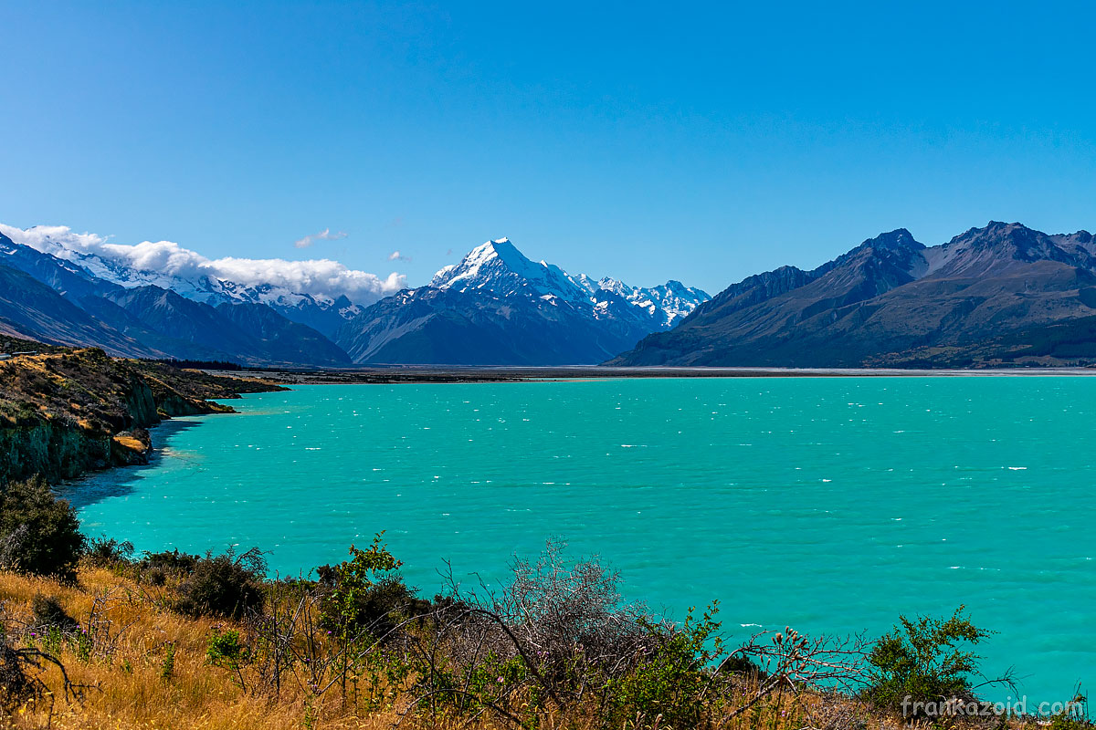 Trip to New Zealand, Twizel, Tasman lake, Pukaki lake, Ohau lake, Hooker valley, Tasman valley, glacier, year 2020