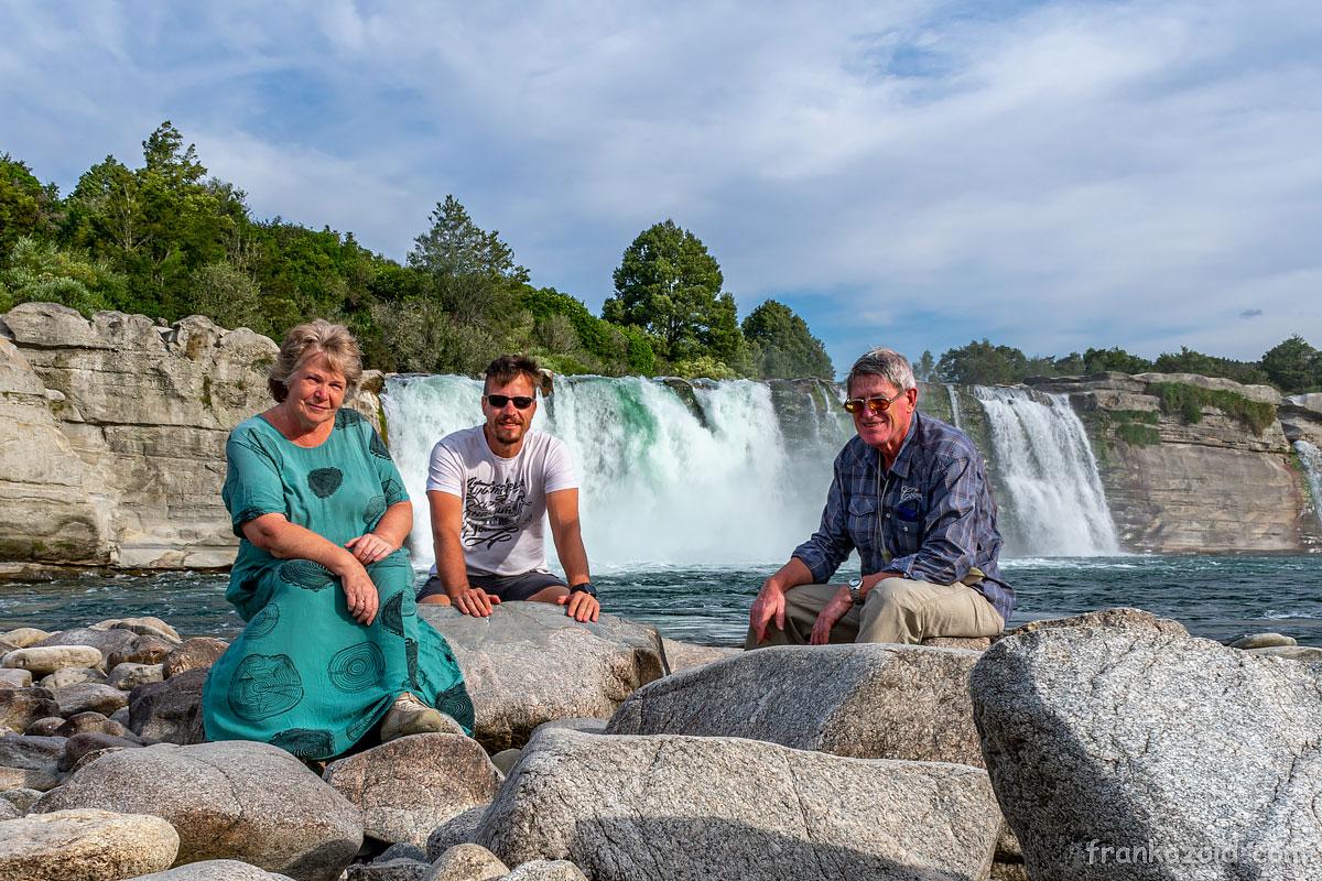 Trip to New Zealand, Wellington, Interislander ferry, Kaikoura, whales, Maruia Falls, year 2020