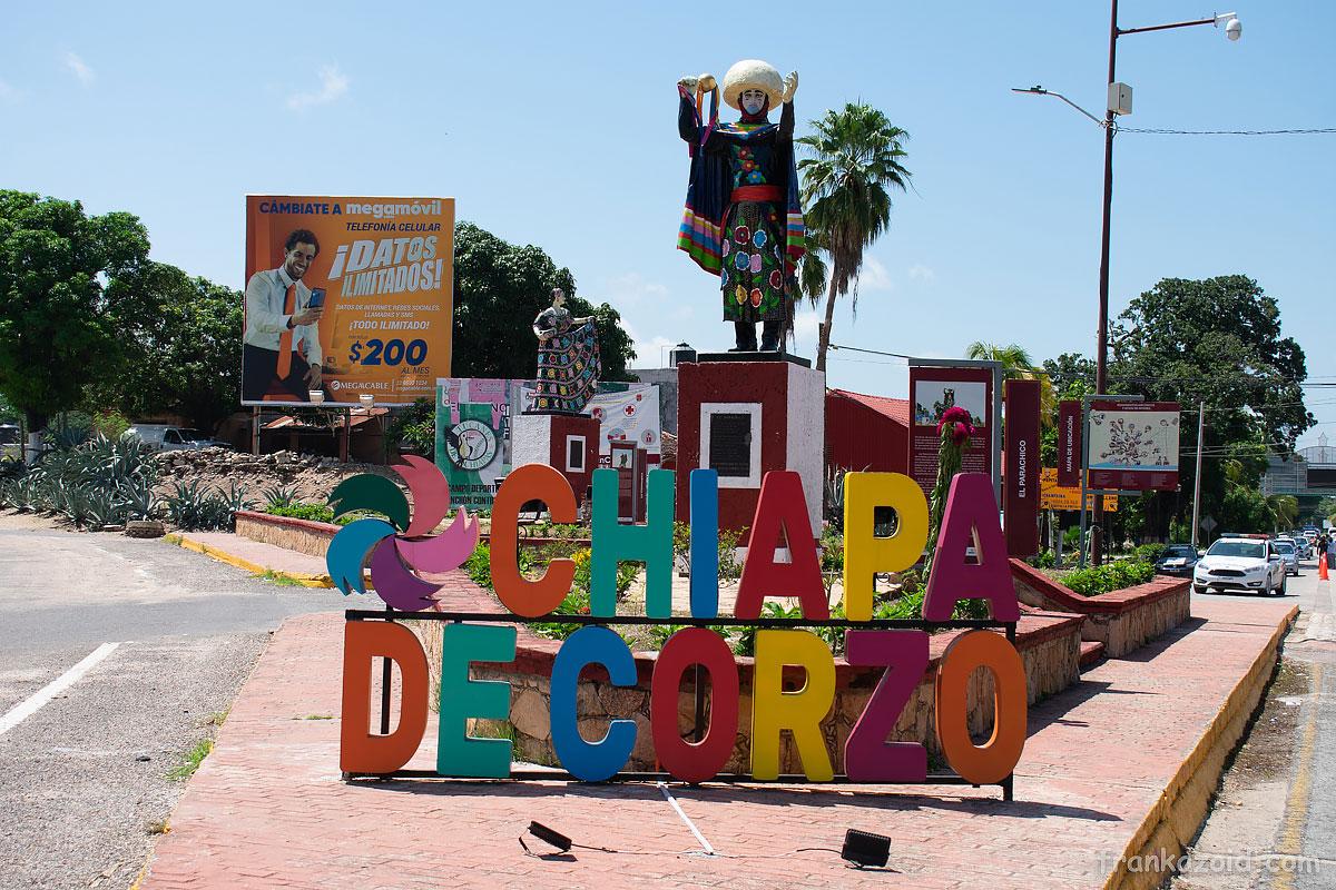 Car trip to states of Campeche, Chiapas, Oaxaca and Tobasco, Mexico, year 2020