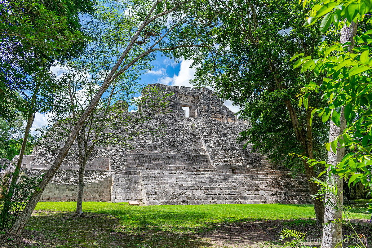 Car trip to states of Campeche, Chiapas, Oaxaca and Tobasco, Mexico, year 2020