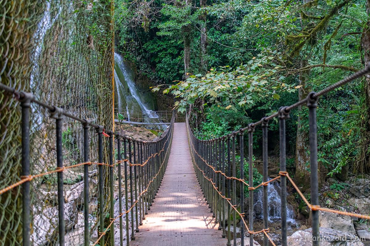 Cascadas del Puente de Fierro
